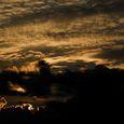富士見台からの夕景